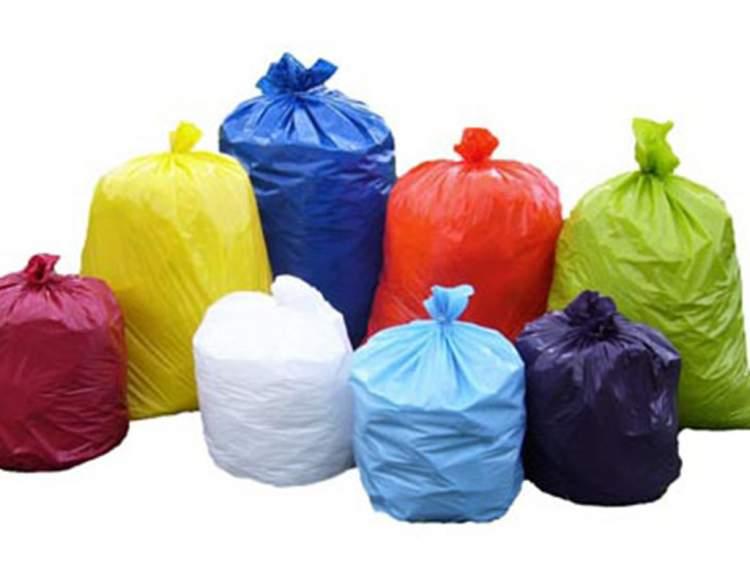çöp poşeti görmek