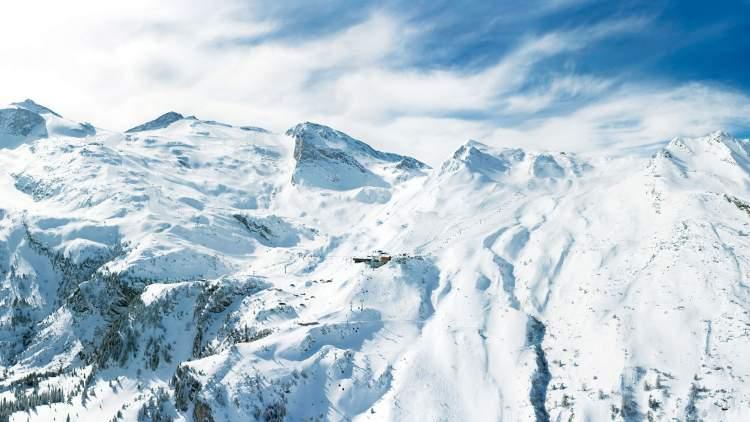 dağda kar görmek