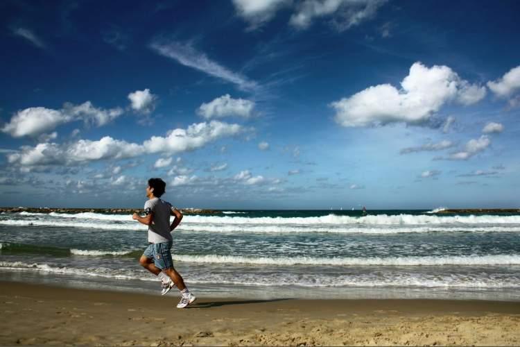 Rüyada Deniz Kenarında Koşmak