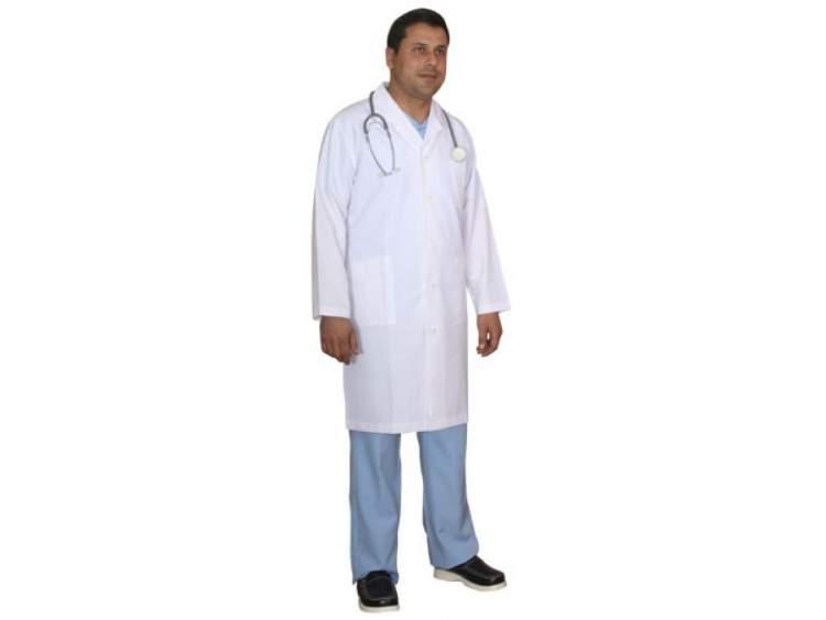 doktor önlüğü giymek
