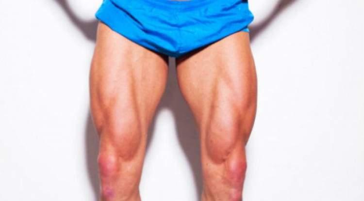 erkek bacağı görmek