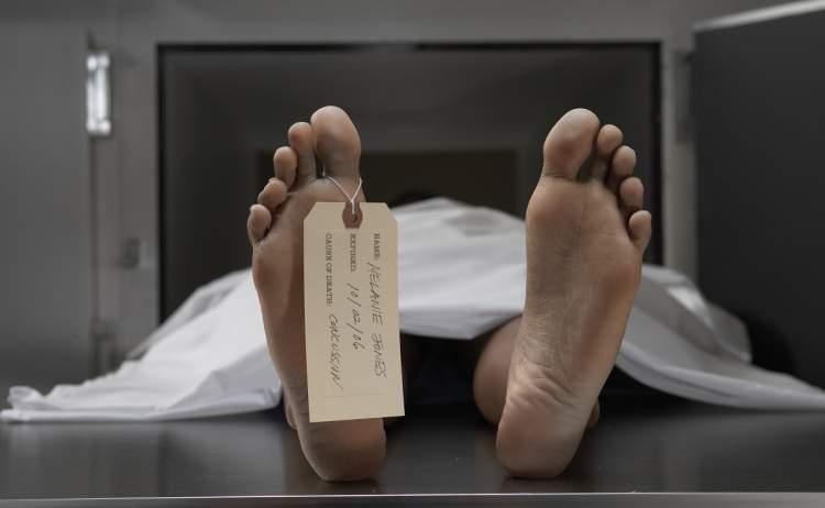 erkek cesedi görmek