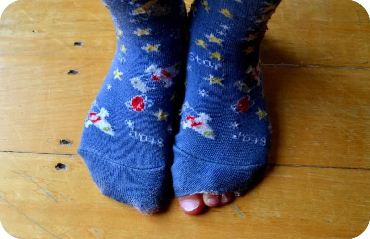 eski çorap görmek