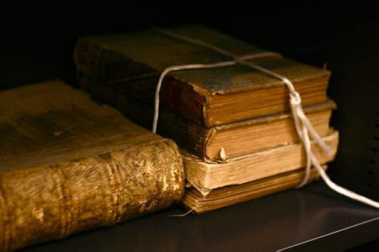 eski kitaplar görmek