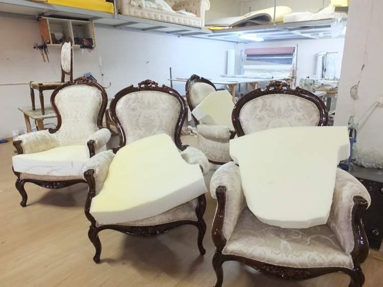 eski koltuk takımı görmek