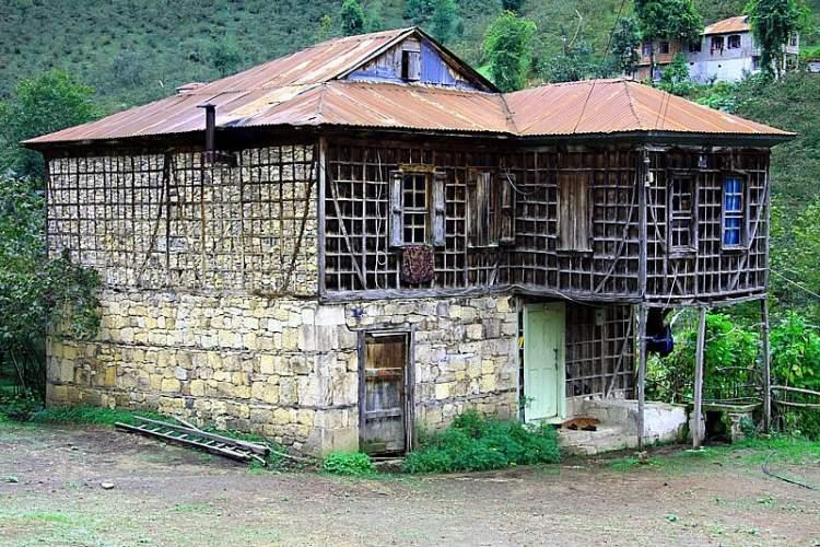 eski köy evi görmek