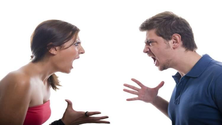 eski sevgiliyle tartıştığını görmek