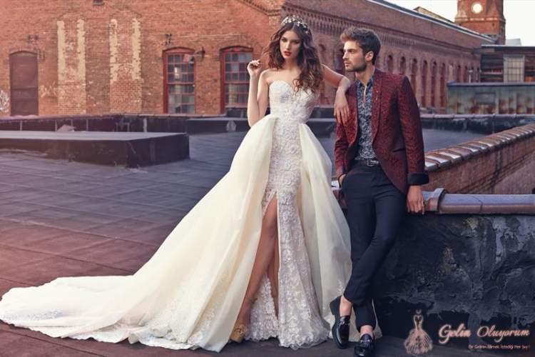 evli birinin tekrar gelinlik giymesi