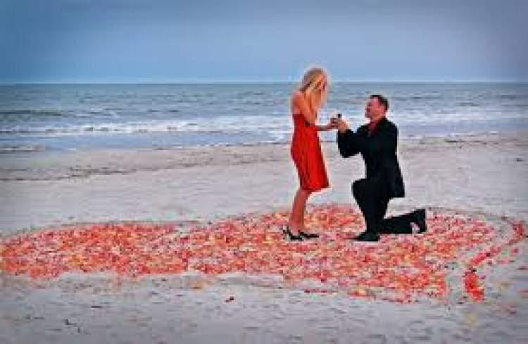 evlilik teklifi almak