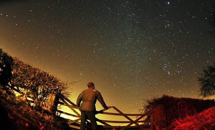Rüyada Gece Gökyüzüne Bakmak
