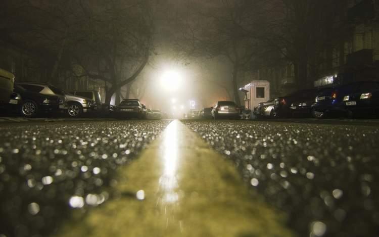 gece yağmur yağması