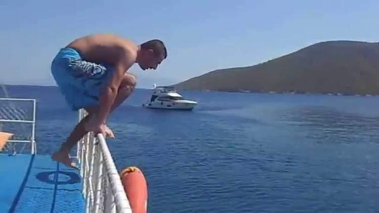 Rüyada Gemiden Atlamak