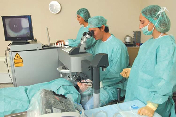 göz ameliyatı olmak