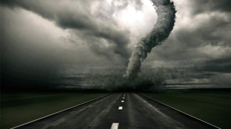 hortum fırtına görmek