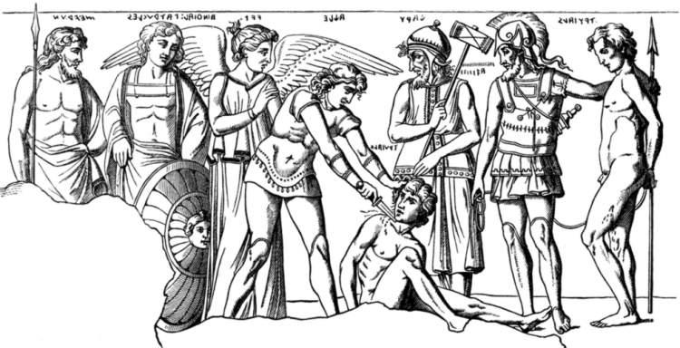 insan kurbanı kesmek