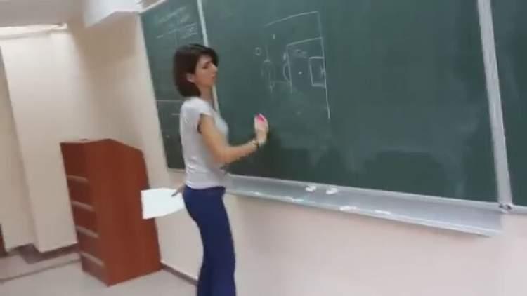 kadın hoca görmek