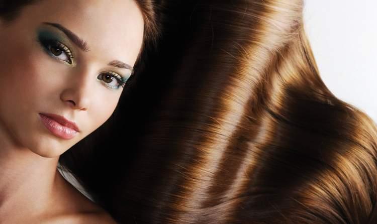 kadın saçı görmek
