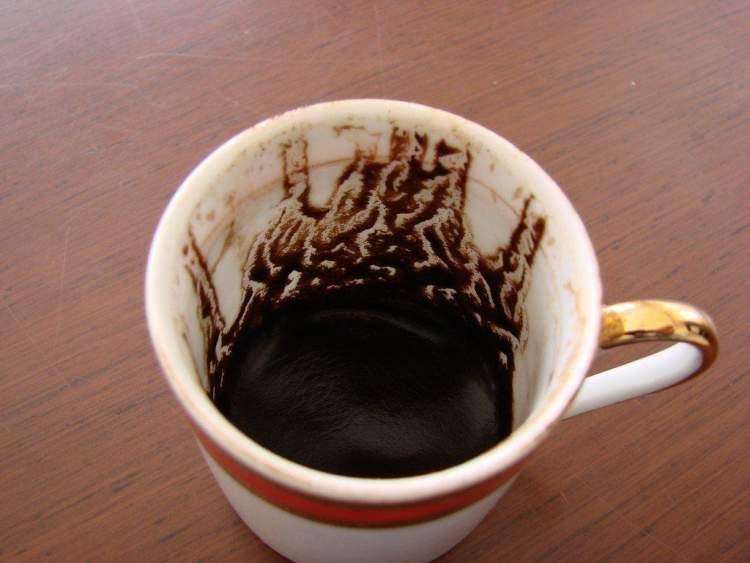 kahve falına baktırmak
