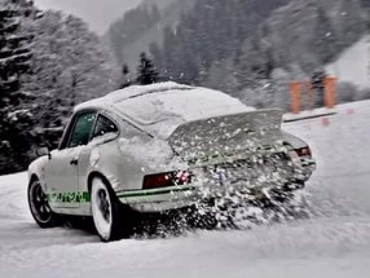 karda araba sürmek