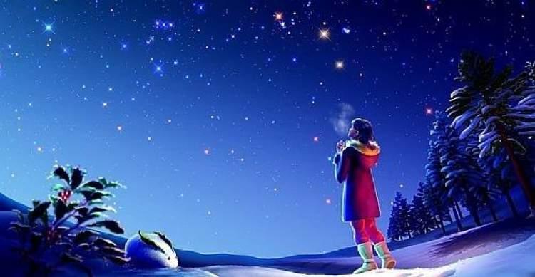 kayan yıldıza bakıp dilek tutmak