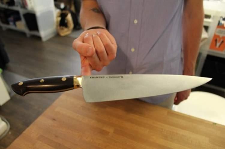 keskin bıçak görmek