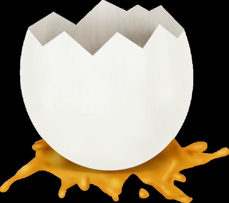 kırık yumurta görmek