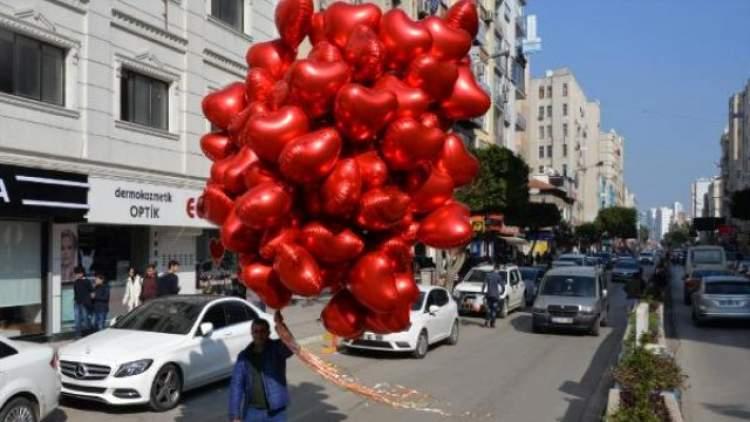 kırmızı balon görmek