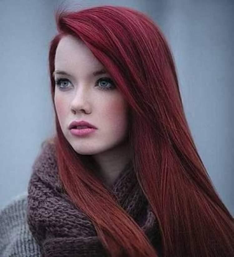 kızıl saç görmek