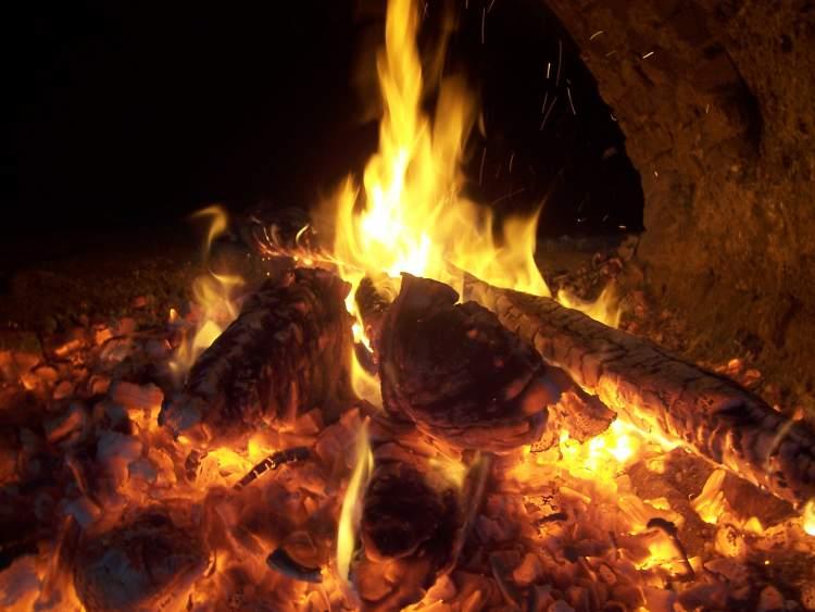 kor ateş görmek