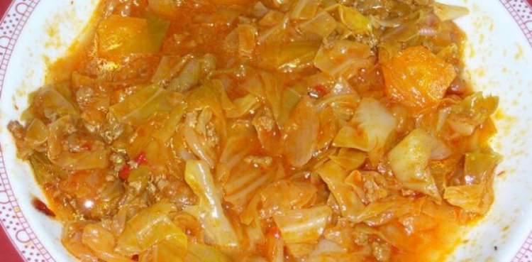 lahana yemek