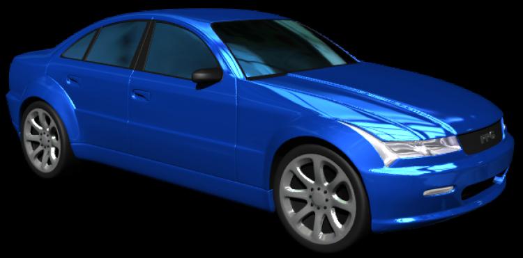mavi araba görmek