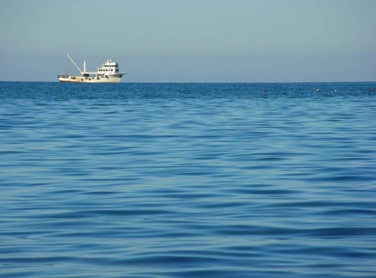 mavi deniz görmek