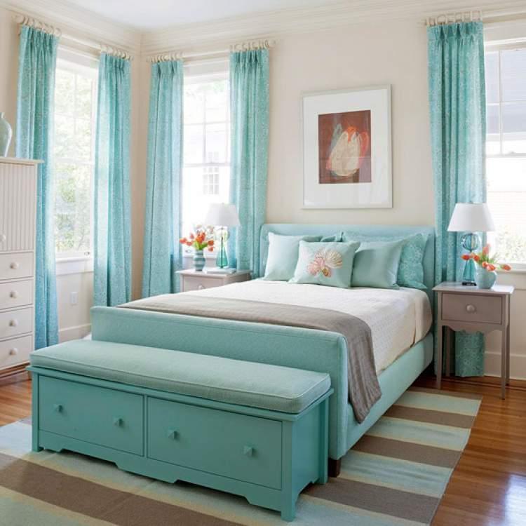 mavi yatak görmek