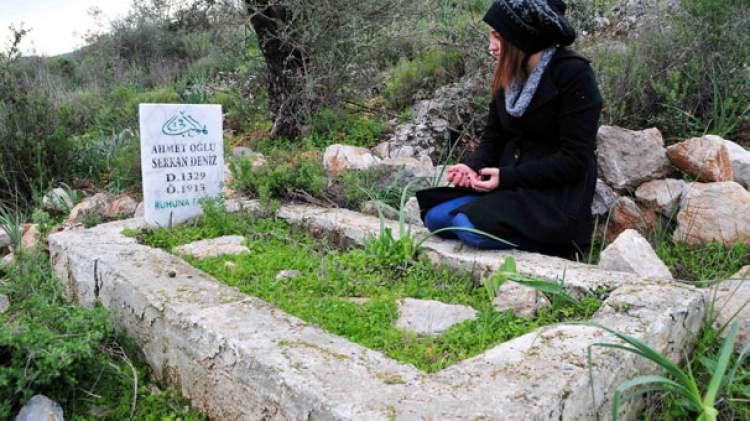 mezar başında dua etmek