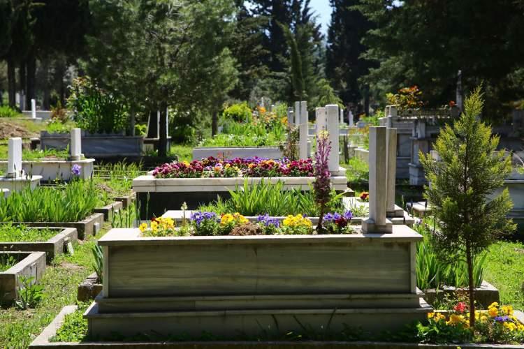 mezar görmek mezarlığa gitmek