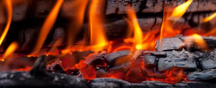 odun ateşi görmek