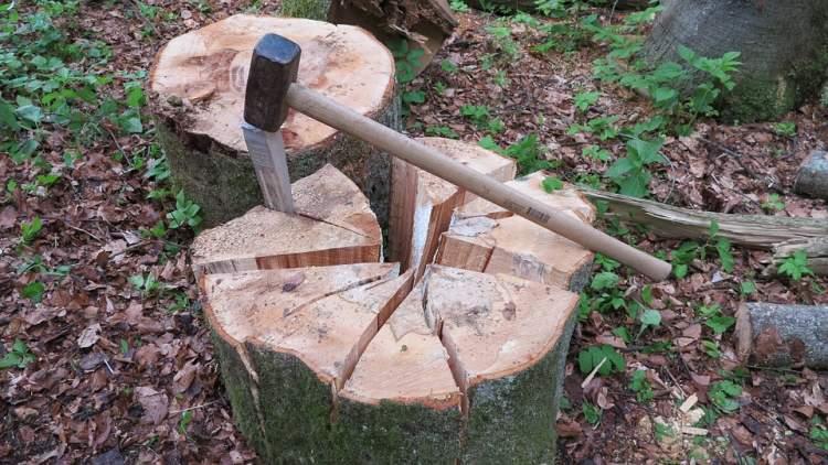 odun kırmak