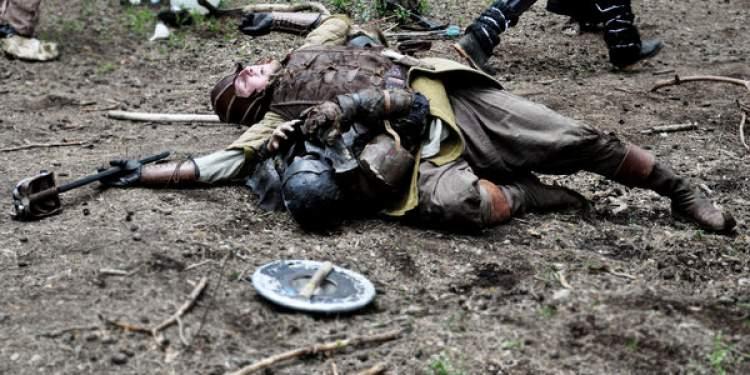 ölmüş asker görmek