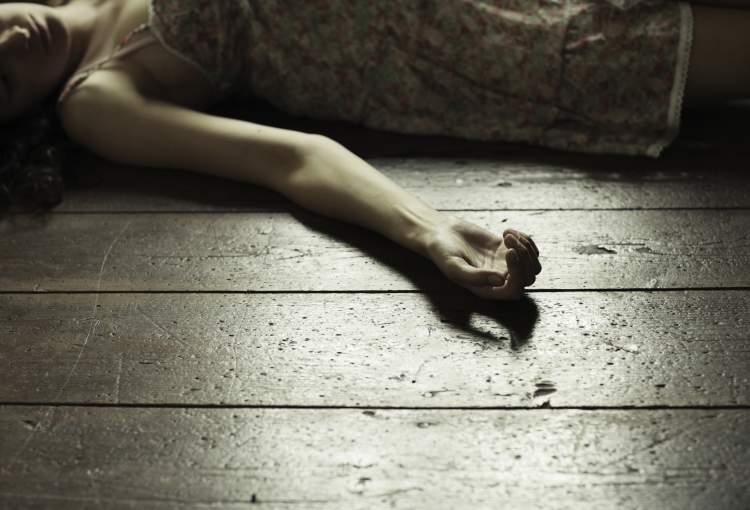 ölmüş kadın görmek