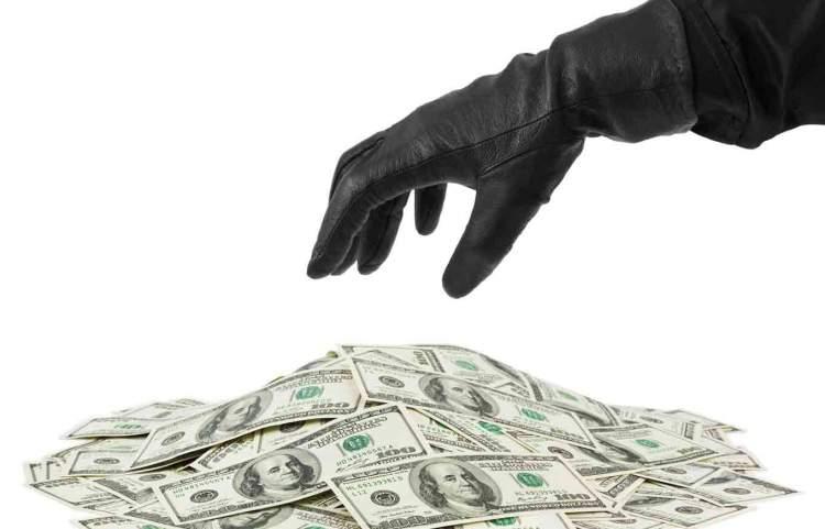 para çaldığını görmek
