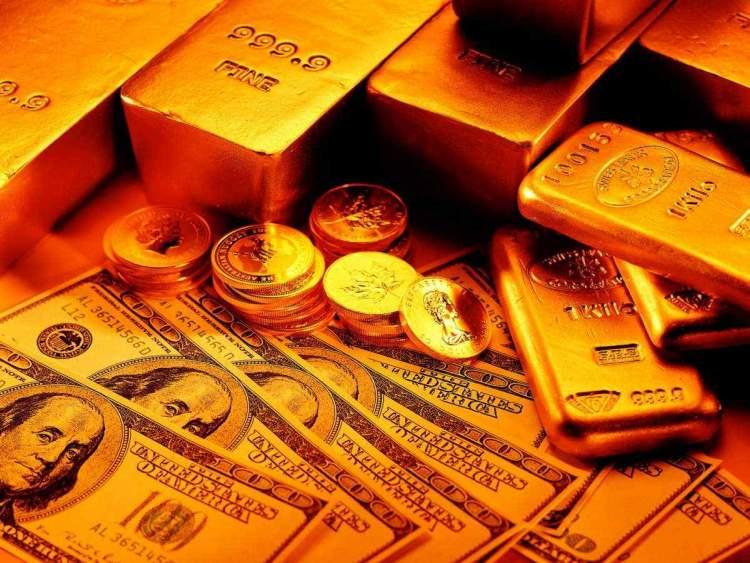 para ve altın görmek