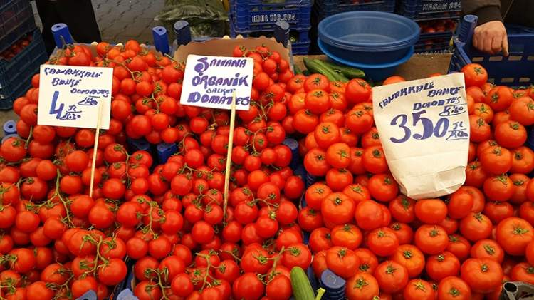 pazardan domates almak