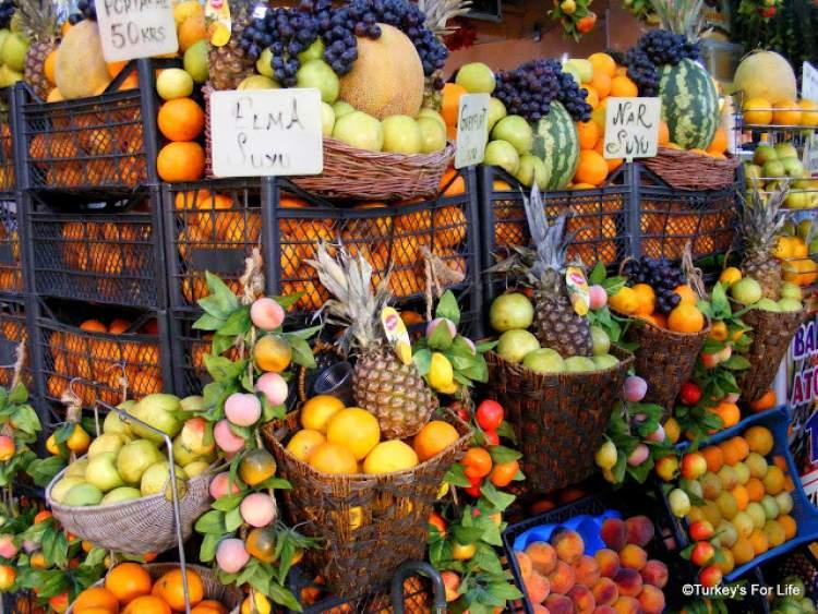 pazardan yeşillik almak