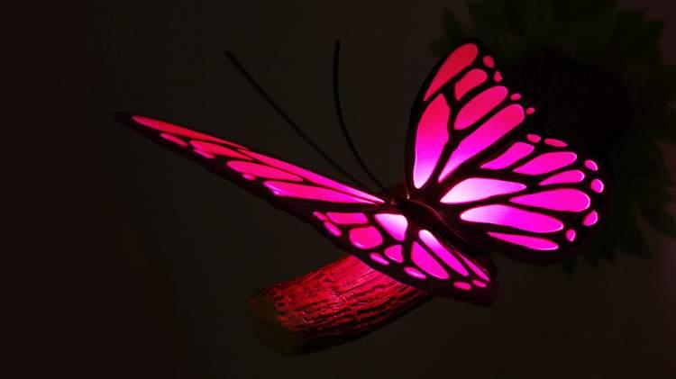 pembe kelebek görmek