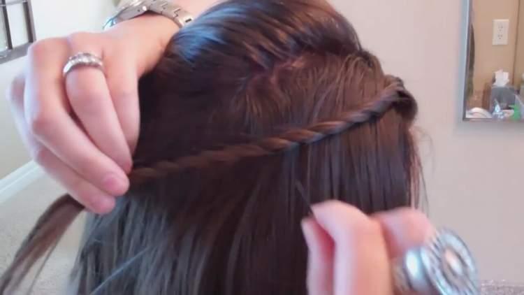 saç toplamak