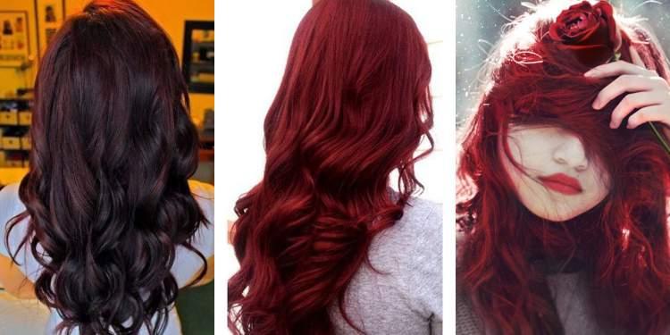 saçı kırmızıya boyatmak