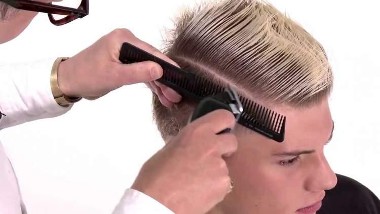 saçın kesilmesi