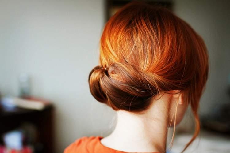 saçını topuz yapmak