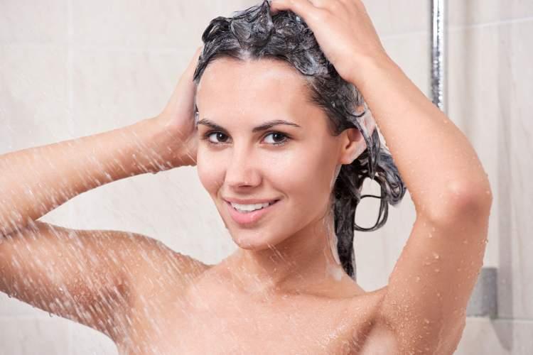 saçını yıkamak