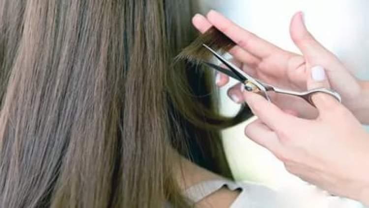 saçının kesilmesi